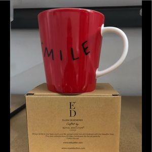 Ellen Degeneres Smile Mug 16.5oz W/Box